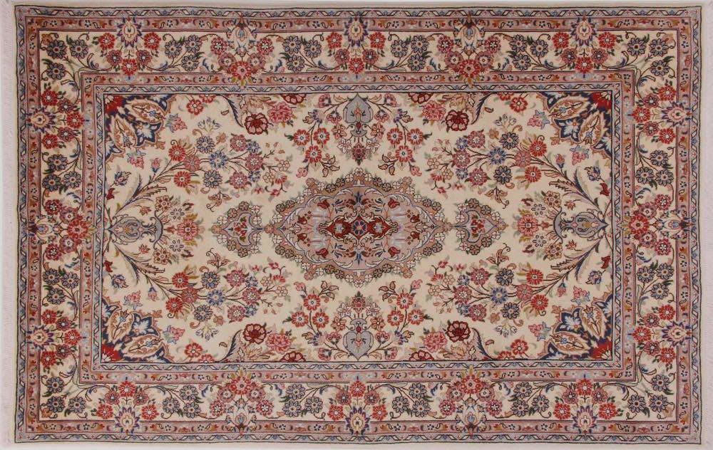 Kashan tapijten